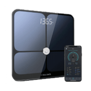 Bluetooth  scale for remote monitoring by your by your practice of weigh ins