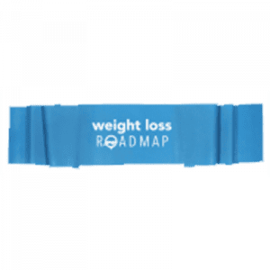 Fitness band to use for safe resistance training exercises in the weight loss roadmap