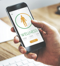 A wellness app for to follow the program and track success